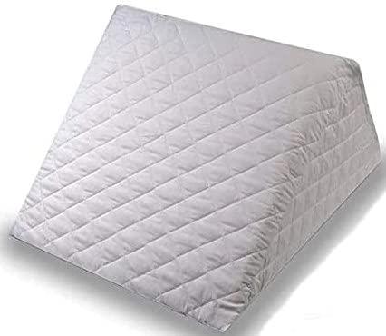 ENERGY COLORS Textil-Hogar Almohada Cojín Tipo Cuña - Desenfundable - Descanso...
