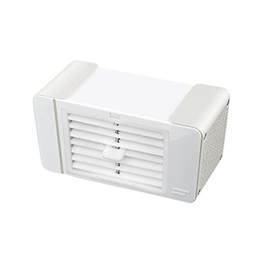 ZHOUJ Enfriador de aire portátil, escritorio Usb Refrigeración Aire Acondicionado Hogar Mini Escritorio Pequeño Refrigerador de Aire 80Ml Hielo Cristal Líquido