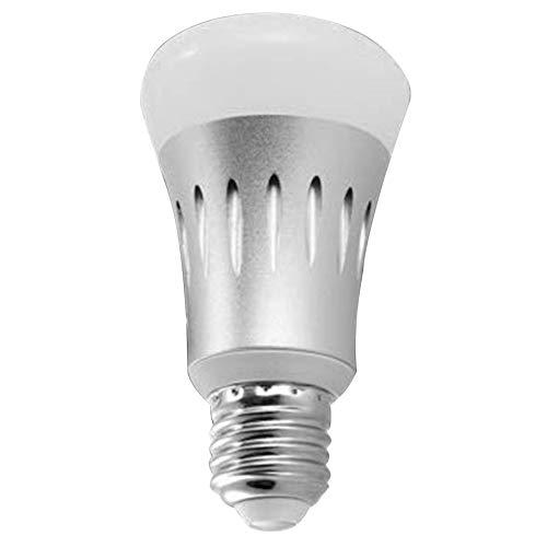 Mogzank Bombillas LED WiFi 7W E27 Control Remoto InaláMbrico WiFi LáMpara Inteligente Bombilla Luz para Echo Alexa