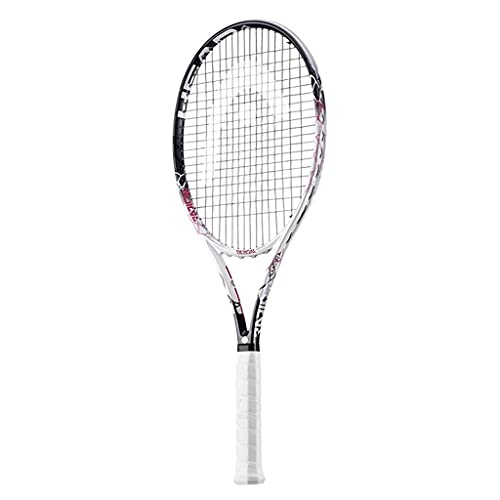 KCGNBQING Full Carbon Limited Edition Frauen Schläger Cherry Blossom Farbe Damen Spezielle Schläger Anfänger Damen Professioneller Tennisschläger (Color : Pink-a, Size : 27in)