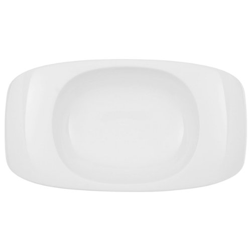 Urban Nature Pasta Bridge by Villeroy & Boch – Porcelana Premium – Fabricado en Alemania – Apto para lavavajillas y microondas – 35 x 19 cm