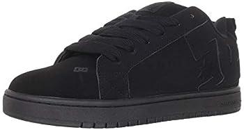 DC Court Graffik Skate Shoe - Men s Black/Black/Black 9.5