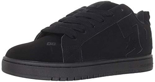 DC Shoes - Sneaker COURT GRAFFIK SHOE, Uomo, Black/Black/Black, 42,5