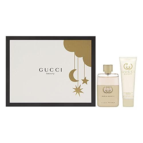 Gucci Guilty Pour Femme by Gucci 2 Piece Set Includes: 1.6 oz Eau de Parfum Spray + 1.6 oz Perfumed Body Lotion