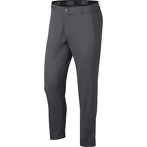 NIKE Men's Flex Core Pants, Dark Grey/Dark Grey, 34-30