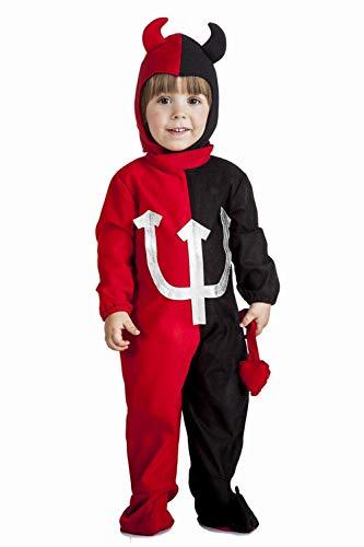 Déguisement de Démon ou Diable pour bébé, taille 1-2 ans.