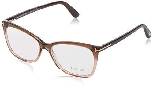 Eyeglasses Tom Ford FT 5514 050 dark brown/other, Transparent Brown, 54-15-140