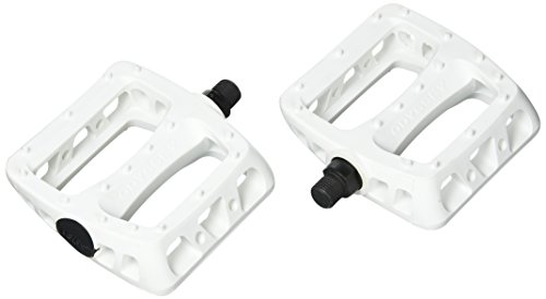 ODYSSEY Limited Edition Twisted PC Pedals, White, 9/16-Inch