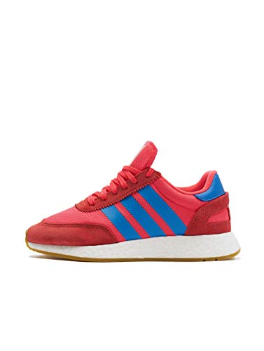 adidas Damen I-5923 Gymnastikschuhe Rot (Shock Red/True Blue/Gum 3), 41 1/3 EU
