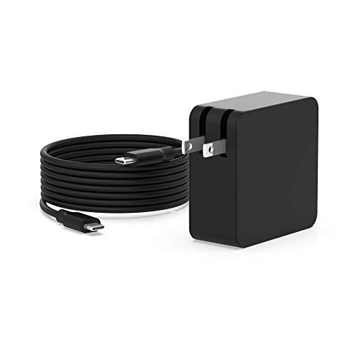USB-C AC Charger Fit for Lenovo Yoga 910 c930 730 730-13 910-13 920-13 c930-13 s730-13 4X20M26268 ADLX65YLC3A ADLX65YLC2A ADLX65YAC2A ADLX65YCC2A IdeaPad Laptop USB Type C Power Supply Adapter Cord