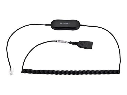 Jabra Standard Headset Cable Black (88011-102)
