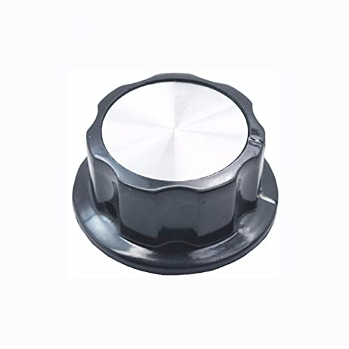 YSYSPUJ Interruptor Giratorio 5 unids potenciómetro Tapa rotativa Tapa Interior 6.35mm Interruptor Giratorio Bakelite Knob MF-A01 A02 A03 A04 A05 Agujero de Cobre WTH118 (Color : 33mm)