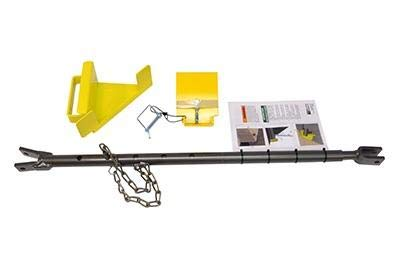 Portable Maintenance Strut, 4 Piece Kit W/Lip and Floor Brackets Part Number: STRUT-2100 This Part is Used on Dock Levelers.