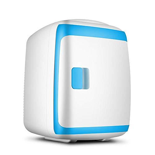 JLWF Autokühlschrank 15L -5~65 Celsius Innenkühlbox Tragbare Kühlschrank Kühler Heizung 12-24 V Mini Kühlschrank Blue-Dual-core