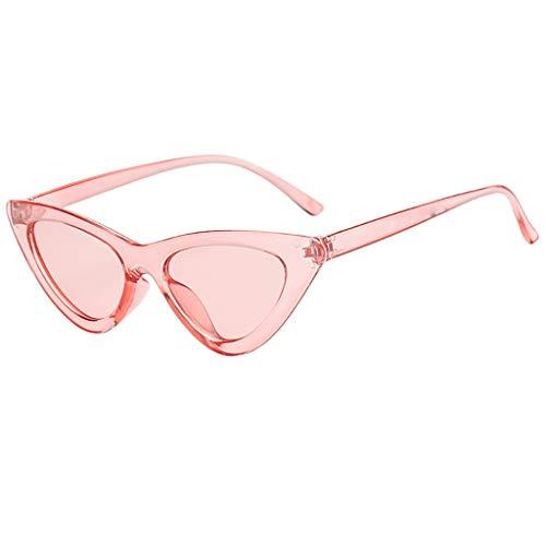 FRAUIT Damen Katzenaugen Sonnenbrille Retro Klassische sexy Sonnenbrille Damen PC-Rahmen Harz Linsen Reisen UV400 Brille Brille PC Rahmen Harz Linse Travel UV400 Brillen Sonnenbrillen