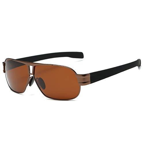 Gepolariseerde Spiegel Lens Vierkant Heren Zonnebril Allemaal Oversized Grote Zonnebril Voor Mannen Retro