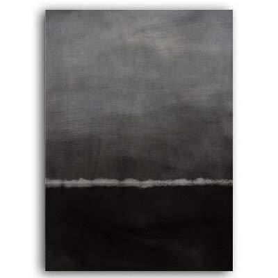 SDFSD Abstrakte impressionistische Art Leinwand Malerei Poster und Drucke Wandkunst Bild für Wohnzimmer Galerie Interior Home Decor 55x75cm