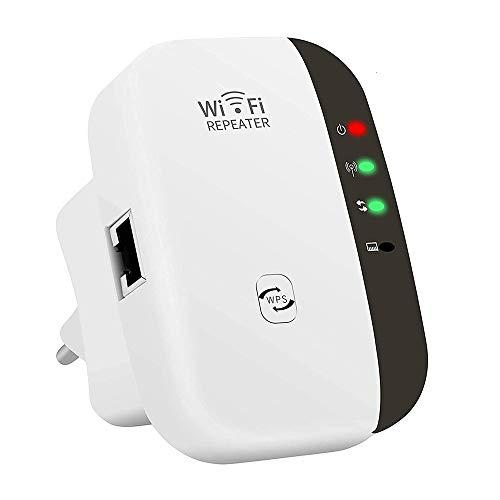 Tanouve Repetidor WiFi Inalámbrico - Repetidor WiFi 2.4G Extensor Inalámbrico Punto De Acceso WiFi Ap 300Mbps Amplificador de señal WiFi Extensor Amplificador De Señal Inalámbrico 802.11nbg WP