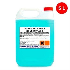SANMARINO SUAVIZANTE ROPA ECOLÓGICO PERFUMADO CONCENTRADO 5 L.