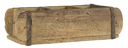 Jellinghaus Ziegelform Holz Aufbewahrung-Box Unika 1-Fach, 3-Fach, Doppelt (3-Fach 31x15x9,5cm)