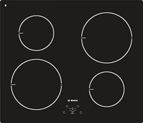 Bosch Elettrodomestici PIE611B10J Piano cottura a induzione, 60 cm, nero