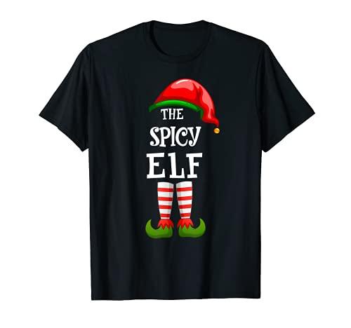 Pijama de The Picy Elf Familia a juego con regalos de grupo de Navidad Camiseta