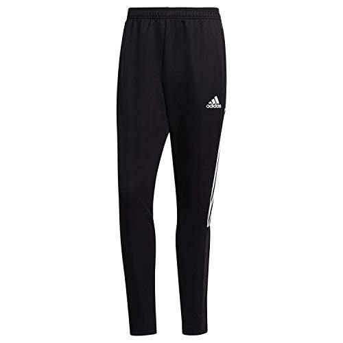 adidas TIRO 21, Pantaloni della Tuta Uomo, Nero Bianco, S