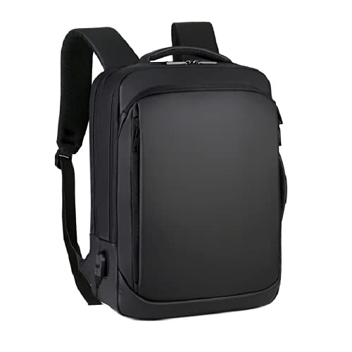 GOCART WITH G LOGO Laptop Backpack Casual Daypacks Briefcase Convertible Business Travel Rucksack with USB Charging Port Large College School Bookbag Computer Laptop Bag