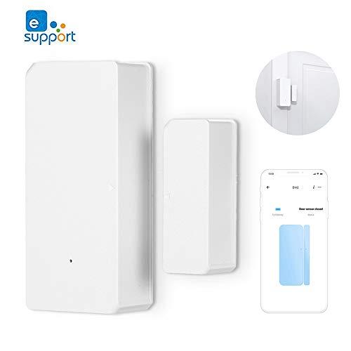 Sono-FF DW2 WLAN Tür und Fenstersensor, Smartphone Benachrichtigungserinnerung, Einbruchmeldesystem mit Bewegungsmelder , funktioniert mit der App eWelink