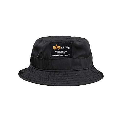 Alpha Industries Crew Bucket Hat Black