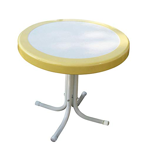 4D Concepts 71120 Metal Retro Round Table