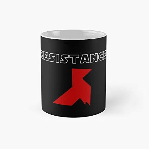 Resistance Origami Money Heist La Casa De Papel Classic Mug - 11 Ounce For Coffee, Tea, Chocolate Or Latte.