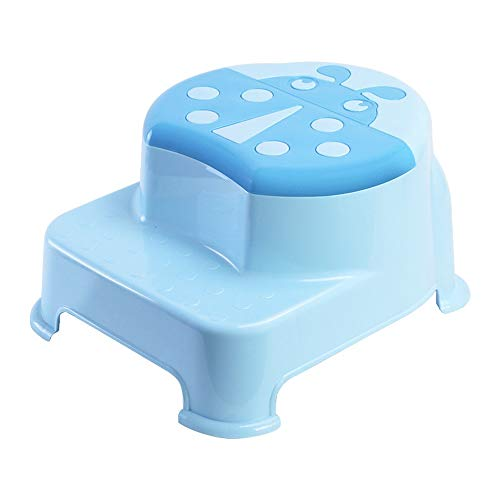 Xiao Jian- Schritt Hocker Cartoon Kinder Fußhocker Wash Pad Hocker Baby Erhöhung Hocker Kindergarten Kleine Bank Slip Kindertoilette