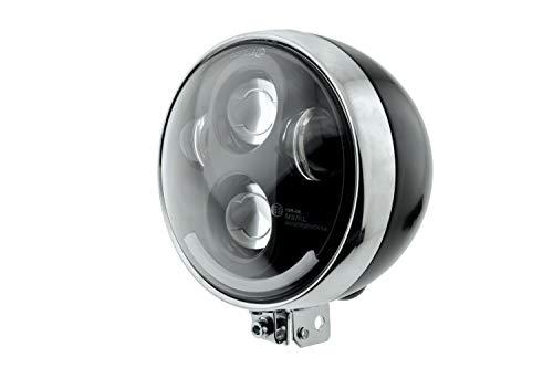 LED Scheinwefer für Simson S50 S51 alte Ausführung, Kugellampe 12V Vape