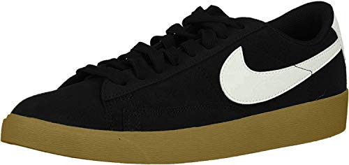 Nike Damen W Blazer Low SD Fitnessschuhe, Schwarz (Black/Black/Sail/Gum Lt Brown 007) , 38.5 EU