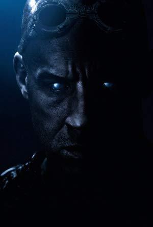 Riddick - VIN Diesel - US Textless – Movie Wall Poster Print – A4 Size Plakat Größe