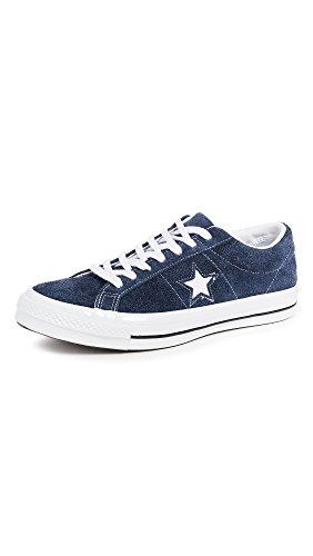 Converse Unisex-Erwachsene Lifestyle One Star Ox Suede Fitnessschuhe, Blau (Navy/White/White 410), 39.5 EU