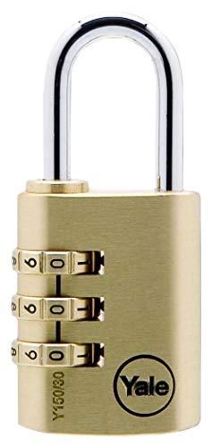 Yale Y150/30/125/1 Candado de Seguridad de Combinación, 30 mm