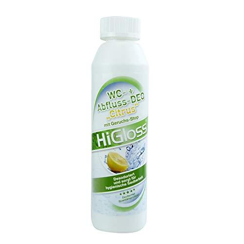 HiGloss WC Abfluss-Deo Citrus 250ml