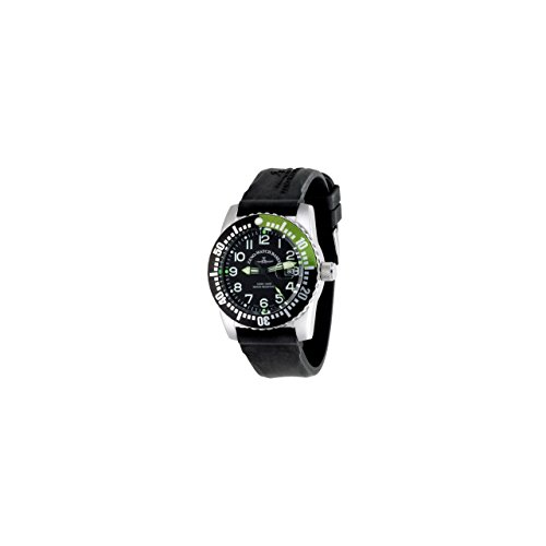 Zeno Watch Basel Orologio da Uomo Analogico Automatico con Bracciale siliconata 6349-12-a1-8