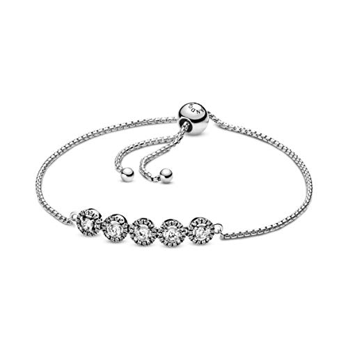 Pandora Donna argento Braccialetto Link ad anello 598510C01-1