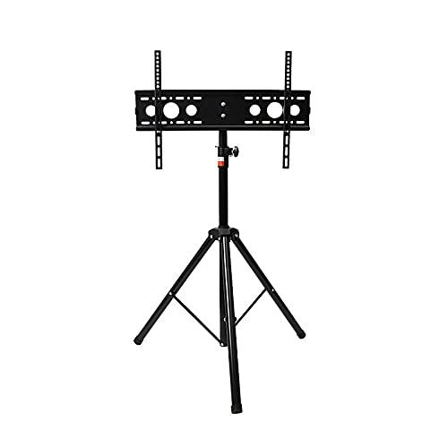 Colgador de TV Ajustable de 12.5~27.5 Pulgadas, Soporte de TV móvil de Piso Triangular