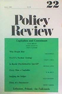 Policy Review #22: Fall 1982