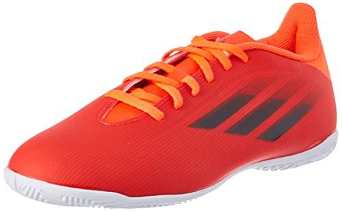 adidas X SPEEDFLOW.4 IN,  Zapatillas Deportivas Unisex Adulto,  Rojo/NEGBÁS/Rojsol,  43 1/3 EU