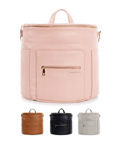 Fawn Design Mini backpack For Women - Vegan Faux Leather - 2019 Ed. - Blush