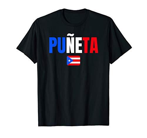 Puneta Puerto Rico Slang Heritage Gift Funny T-Shirt