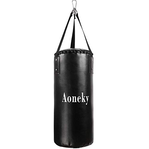 Aoneky Leather Kids Punching Bag –...