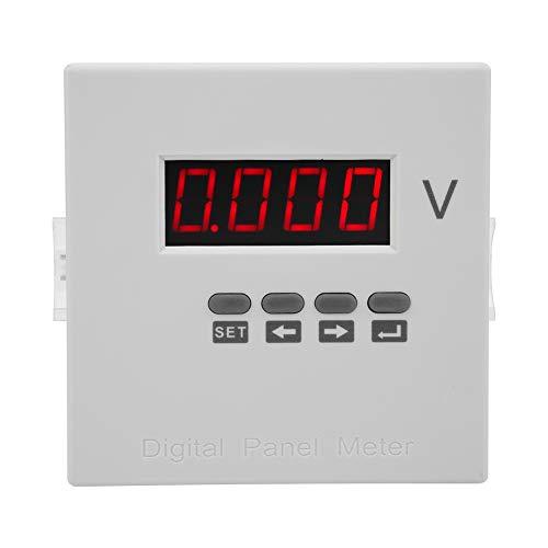 Medidor de voltaje eléctrico, medidor de la serie AC220V Lectura máxima Dural Drural Run Plastic