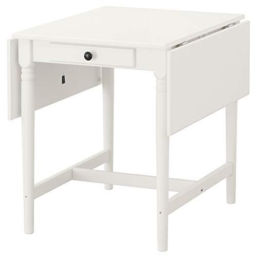 INGATORP Tropfenblatt-Tisch, Weiß