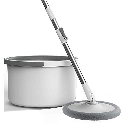 XYSQWZ Trapeador De Microfibra para Limpieza De Pisos Juego De Trapeador Y Cubo para Pisos Planos Limpiador Hogar Y La Cocina para Baldosas Laminadas De Madera Vinilo Etc. (tamaño: 4